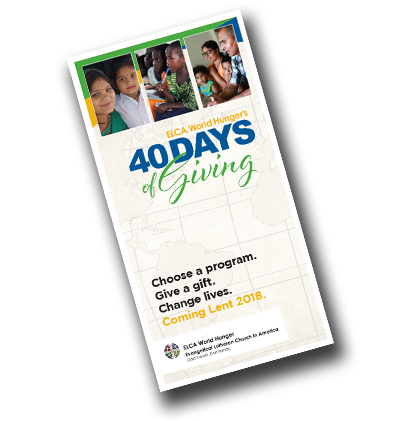 40 Days of Giving Brochure