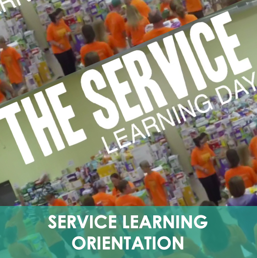 Service Learning Orientation