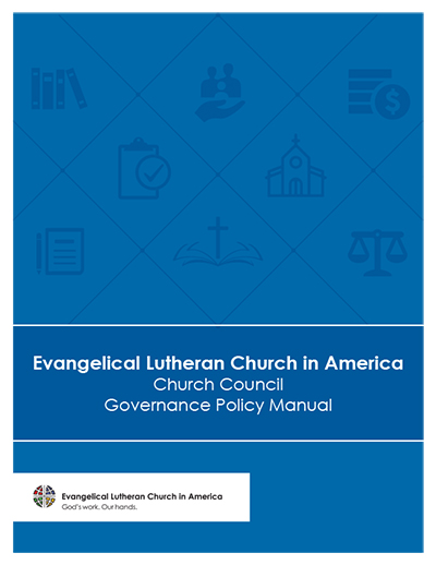 ELCA Church Council Governance Policy Manual