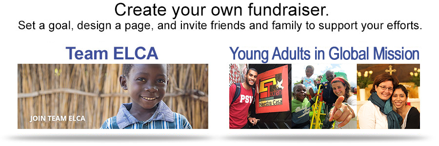 Create your own fundraiser.
